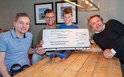 Phoenix Group doneert 3000,- aan Stichting Teun