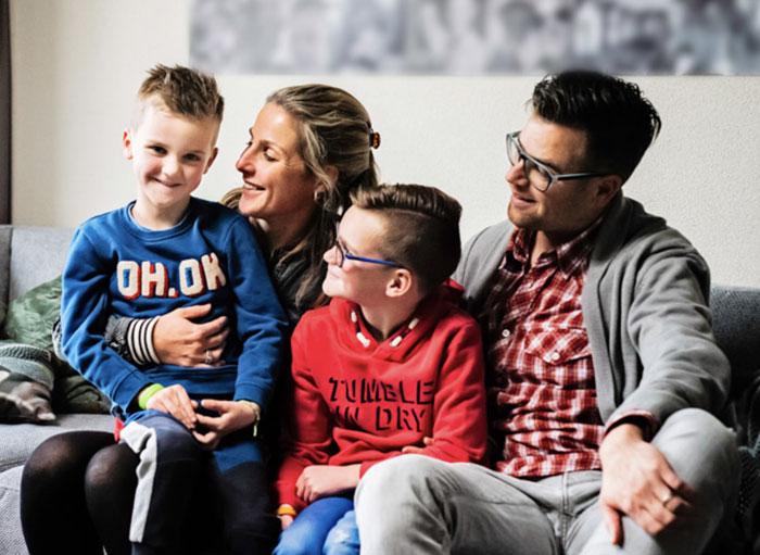 Familie Stichting Teun Emery Dreifuss progressieve zeldzame spierziekte