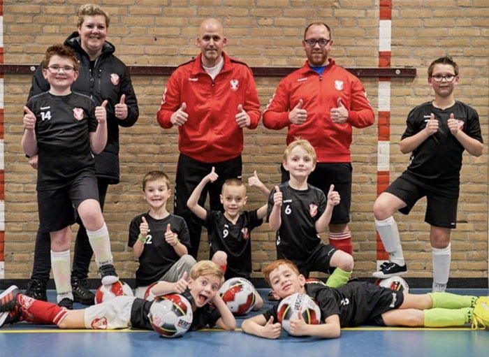 Passend Voetbal Jong Brabant Stichting Teun Emery Dreifuss progressieve zeldzame spierziekte