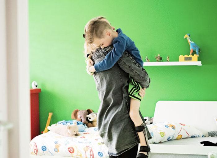 Mama Stichting Teun Emery Dreifuss progressieve zeldzame spierziekte