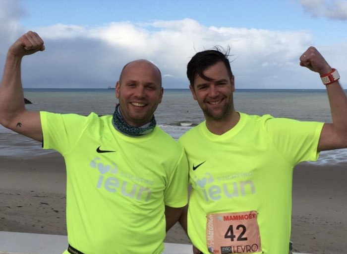Marathon Jelko Sweegers Stichting Teun Emery Dreifuss progressieve zeldzame spierziekte